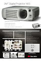 3M Multimedia Projector X65