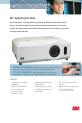 3M X64W - Digital Projector XGA LCD