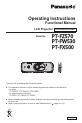 Panasonic PT-FZ570
