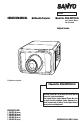 Sanyo PDG-DHT8000L - 8000 Lumens
