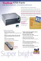 ViewSonic PJ755D - 2600 Lumens DLP Projector