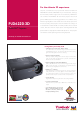 ViewSonic PJD6220-3D - 720p DLP Home Theater Projector