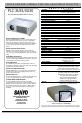 Sanyo PLC-XU35