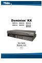 Raritan DOMINION DKX116