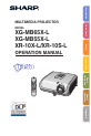 Sharp XR-20X - Notevision XGA DLP Projector