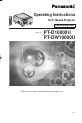 Panasonic PT-DW100U - WXGA DLP Projector