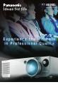 Panasonic PT AE900U - LCD Projector - HD 720p