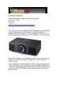Panasonic PT-AE1000U - LCD Projector - HD 1080p