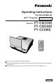 Panasonic PT-CW33OE
