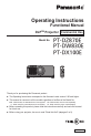 Panasonic PT-DZ870E