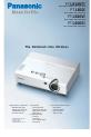 Panasonic PTLB20NTU - PROJECTOR- NETWORK IB