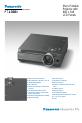 Panasonic PTL300U - LCD PROJECTOR