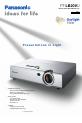 Panasonic PTLB20VU - LCD PROJECTOR - MULTI-LANG