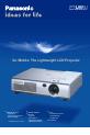 Panasonic PTLM1U - LCD PROJECTOR